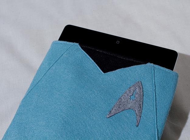 Star Trek iPad Felt Protection