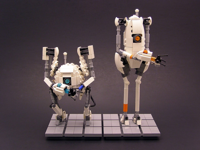 Lego Portal: Micro Builds With Insane Detail