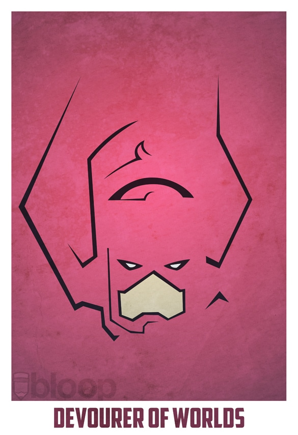 minimalistic-superhero-illustrated-posters