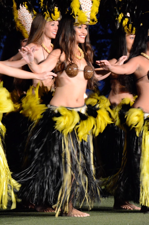 Image Of Dancers In Hawaii