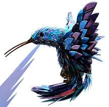 Razor Sharp Animal Sculptures Made From Shattered CDs