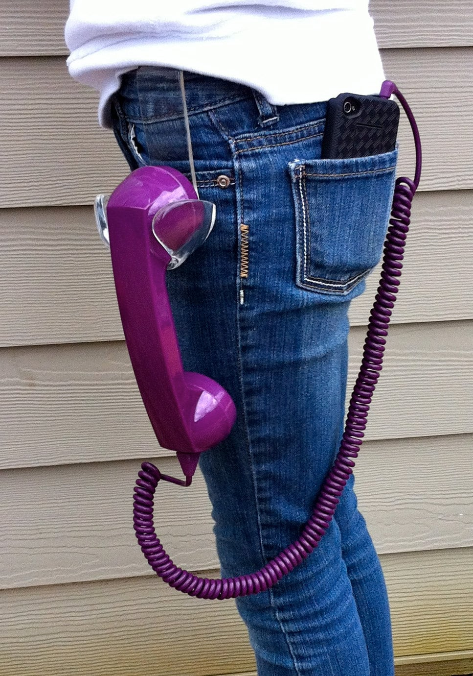Ultimate Retro Handheld Phone & Holster For Your Smartphone