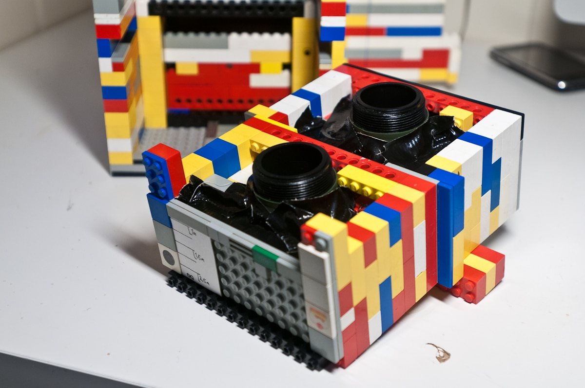 The Real Twin Lens Lego Camera Build