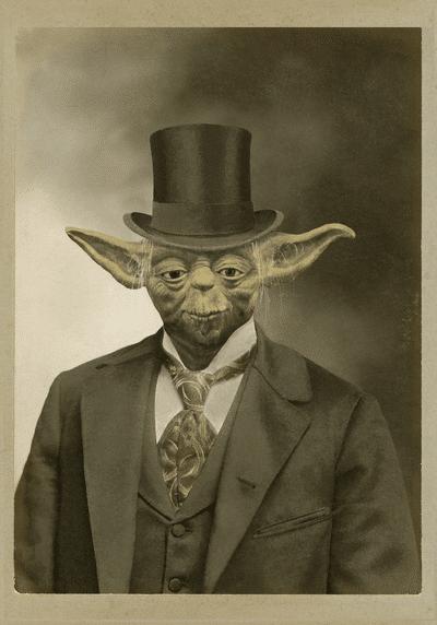 Steampunk Yoda Top Hat Design