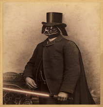 Victorian Era Star Wars: Unique Art Designed For Geeks