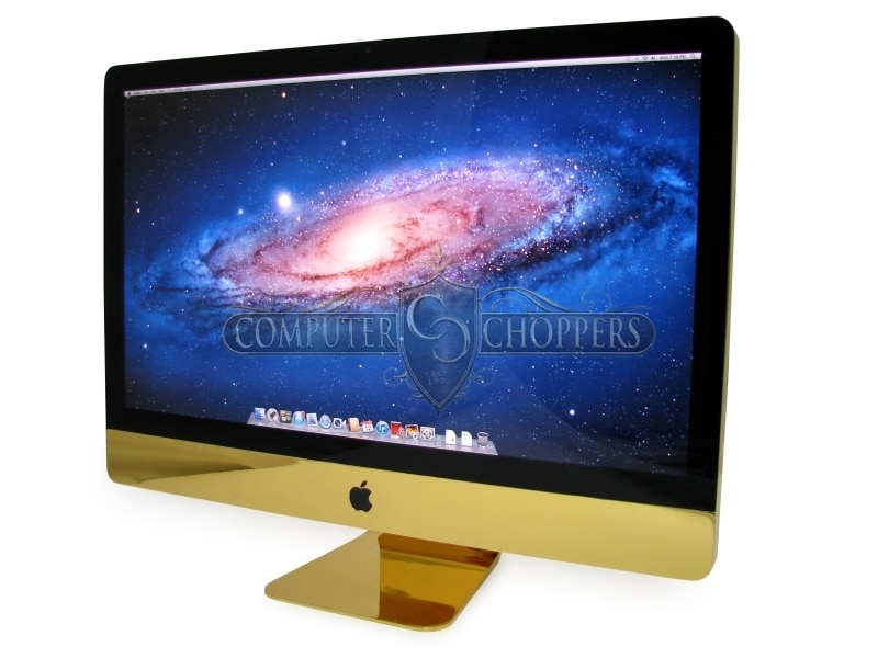 27″ iMac Plated In 24K Gold Now Available