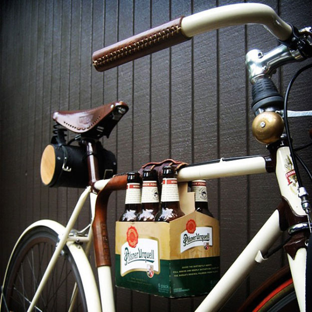 Booze On A Bike: The Best Way To Transport That 6-Pack