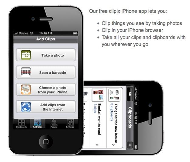 Clipix-Organization-Tool-App