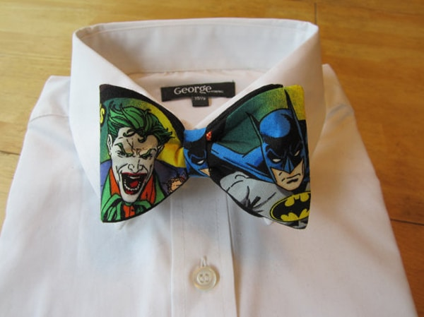 Superhero Bow Ties: Be The Best Dressed Hero On The Block