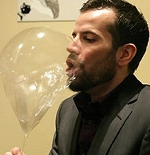 Edible & Breathable Balloons Filled With Sugared Helium