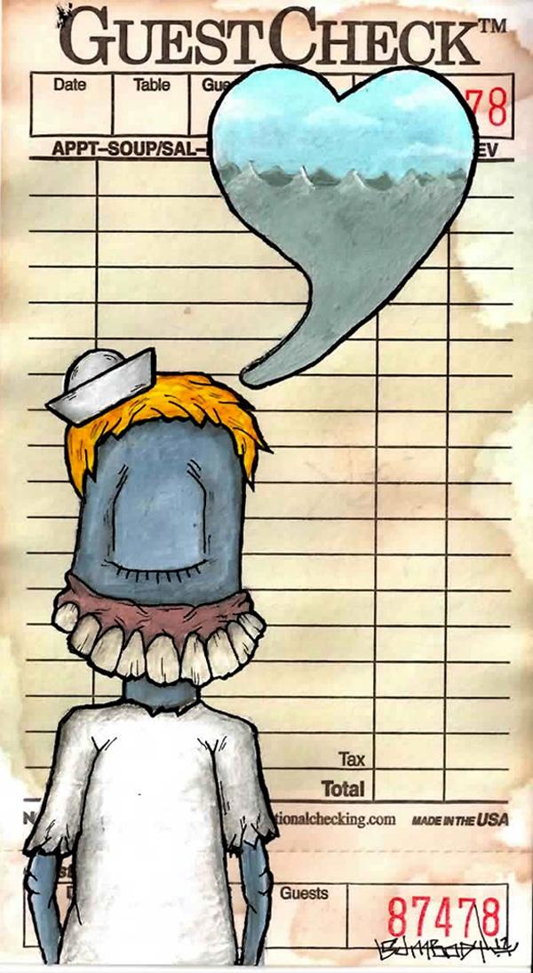 Guest-Check-Doodle-Art