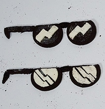 6 Pairs Of Sunglasses Made From Oreo Cookies
