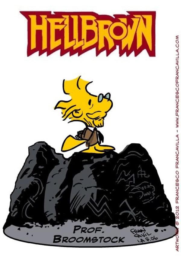 Peanuts-Hellboy-Mashup-Illustrations
