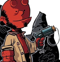 Hellbrown: A Twisted Charlie Brown & Hellboy Mashup