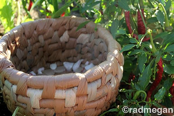 Plastic-Bag-Weaved-Bowls