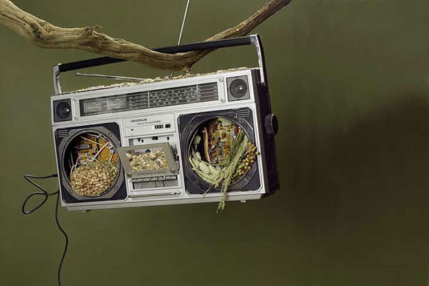 Clever Birdfeeders Made With Repurposed Household Objects