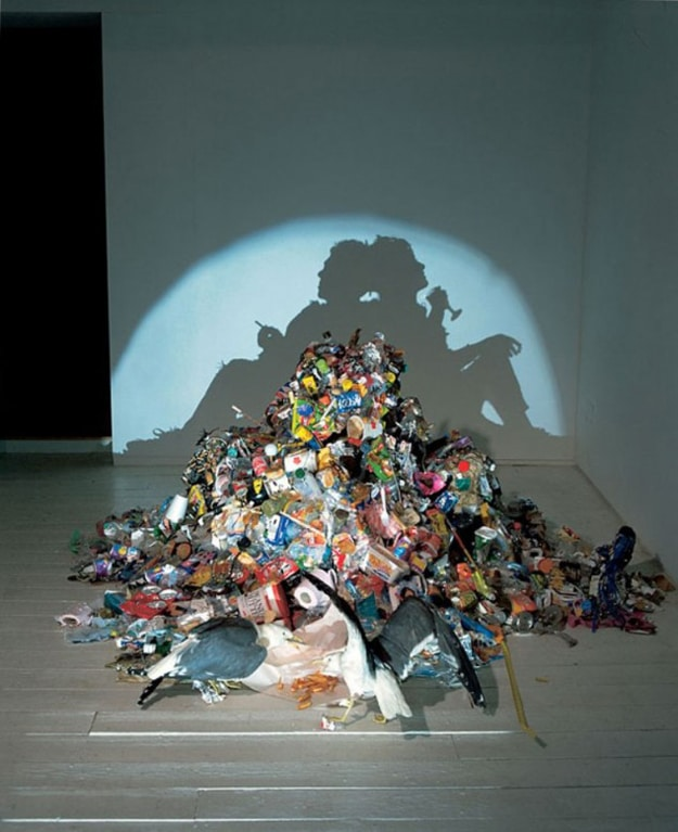 Extraordinary Shadow Art Made From Trash