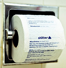 Shitter: The App That Prints Your Tweets On Toilet Paper