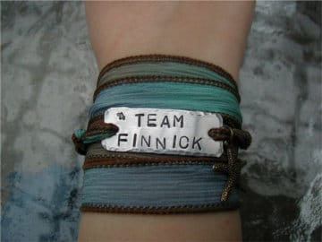 Peta Silk ribbon bracelet