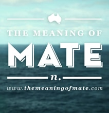 "The Handy Guide For Understanding The Word ""Mate"""