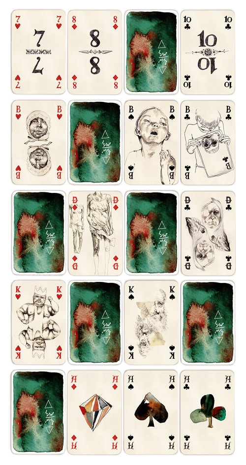 Watercolor-Playing-Cards-Design