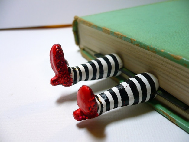 Wicked-Witch-Bookmark-Design