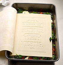 Edible Cookbook: The First Cookbook You Can Read & Eat