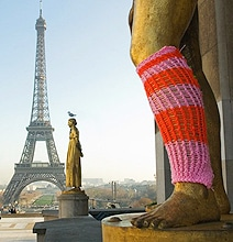 Original & Fun Yarn Bombing To Brighten Your Day With Colors
