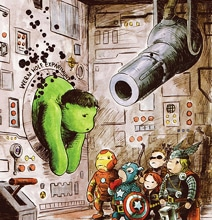 When The Avengers Go Winnie The Pooh Style