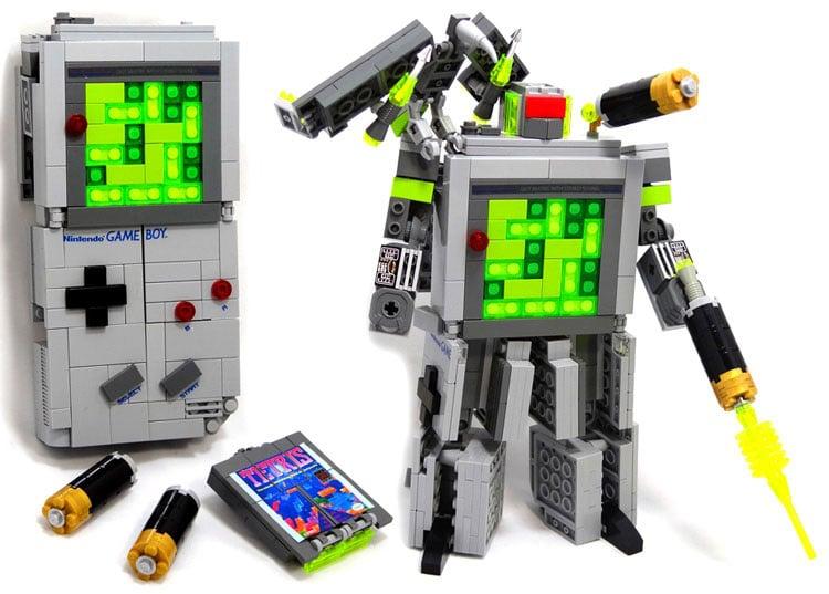 Retro Defined In This Lego Game Boy Transformer