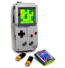 Retro Defined In This Lego Game Boy Transformer
