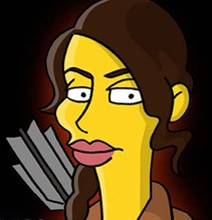 The Hunger Games Simpsons Mashup