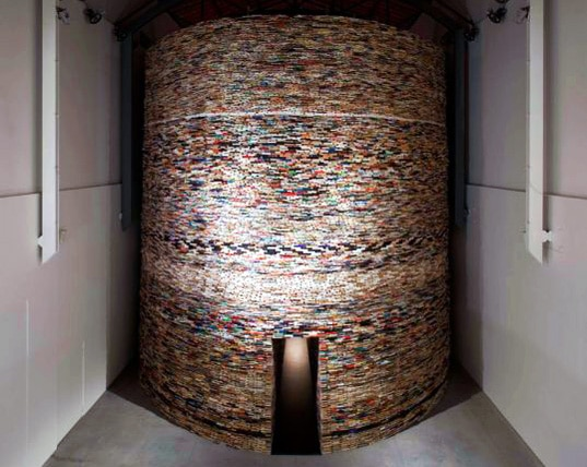 Incredible Building Made Entirely Out Of Books
