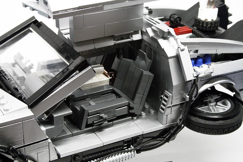 large-delorean-lego-build