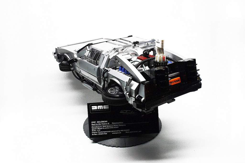 large-delorean-lego-build