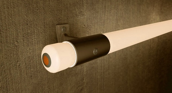 Sci-Fi Handrails: LED Lights To Guide You In The Darkness