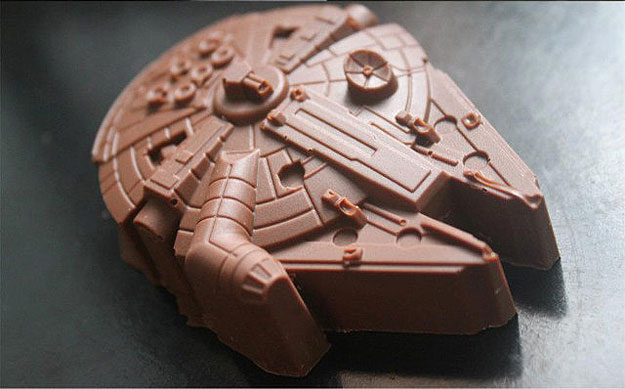 Millennium Falcon & Stormtrooper Chocolates To Sweeten Your Day