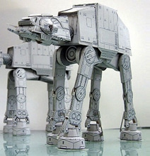 14 Star Wars Models Created Entirely Out Of Paper