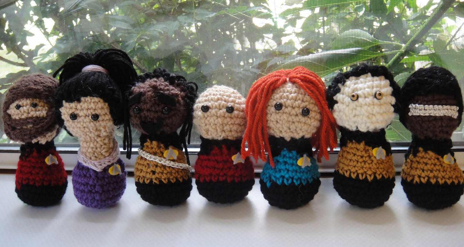 Star Trek: The Next Generation Cast Created Using Yarn
