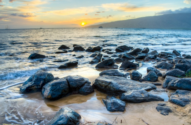 Sunset-Kihei-Maui-Hawaii-Rendering