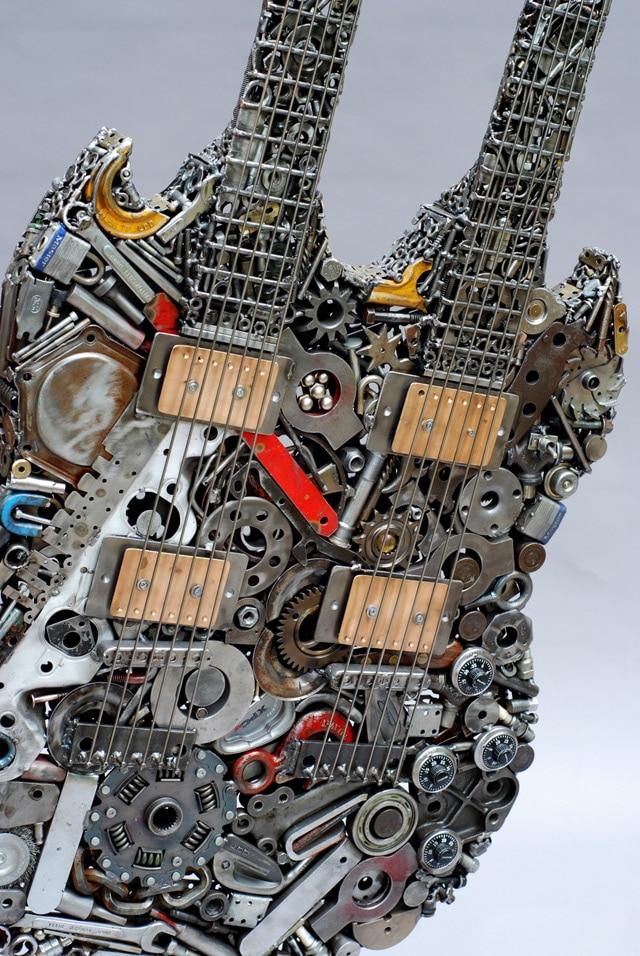 welded-scrap-junk-sculptures