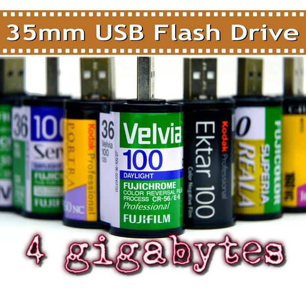 35mm USB Flash Drives: Film & Digital Photography Unite