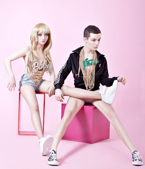 Barbie & Ken If They Were Created Today [Photo Manipulation]