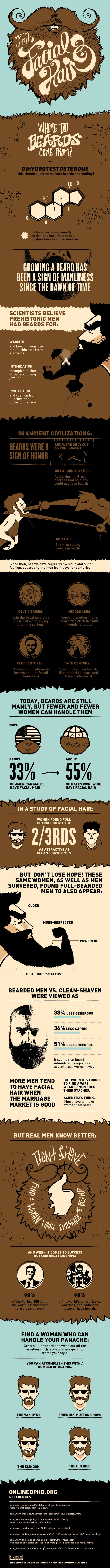 Everything You Ever Wanted To Know About Beards [Beardographic]