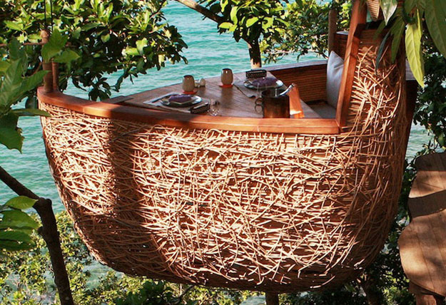 The Bird's Nest Restaurant: Dine Peacefully While Sitting In A Tree