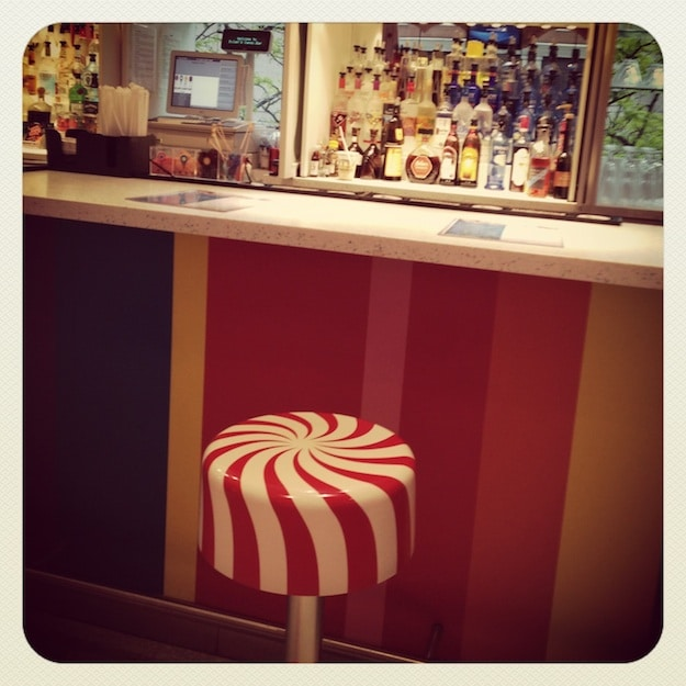 Peppermint Barstool at Cocktail Lounge