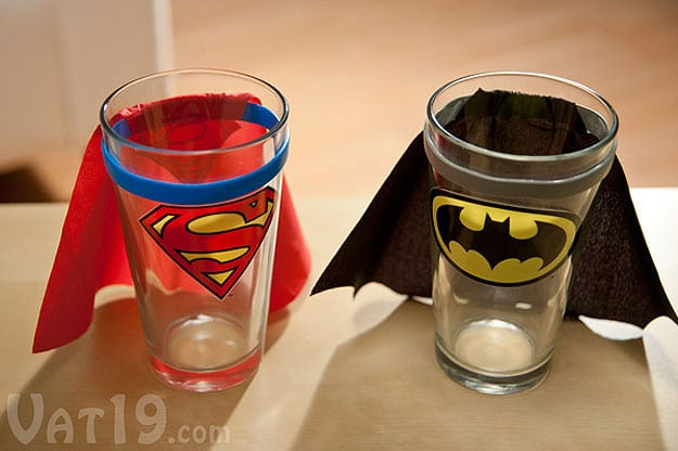 Superhero Cups With Capes For Every Geek's Kitchen