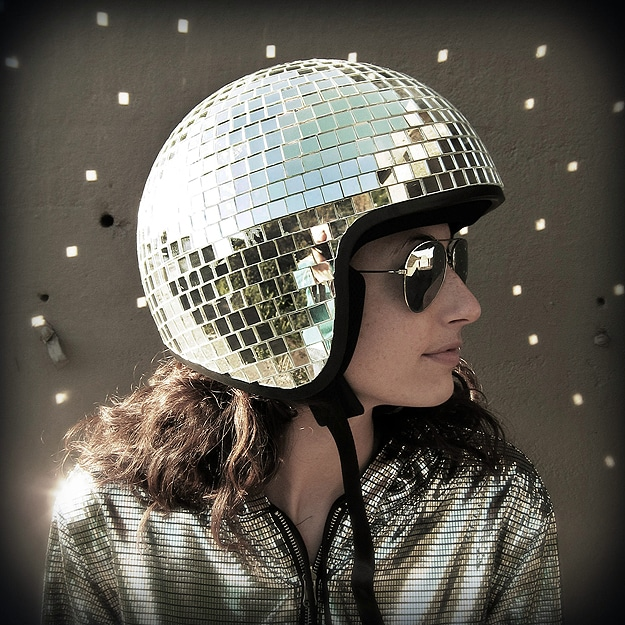 Disco-Ball-Motorcycle-Helmet
