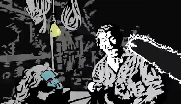 Rotoscoped Evil Dead Trailer Image