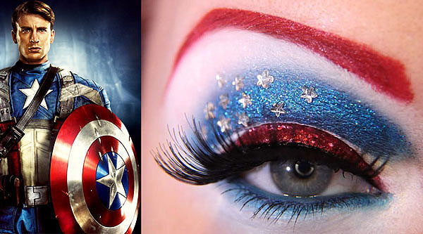 Whoa! The Avengers Expressed In Extraordinary Eye Makeup